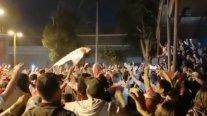 La eufórica celebración en las calles de La Calera tras la hazaña en Copa Sudamericana