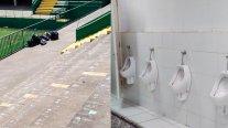 Chapecoense destacó que hinchas de La Calera dejaron limpio el sector del estadio que utilizaron