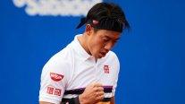Kei Nishikori avanzó a cuartos en Barcelona y espera al ganador entre Garin y Carballés