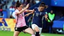 Argentina rescató un sufrido empate ante Escocia y le dio vida a Chile en el Mundial femenino
