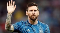 Hincha de Argentina viralizó mensajes que le envió a Messi en estado de ebriedad