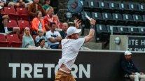 Nicolás Jarry estuvo intratable ante Federico Delbonis y se instaló en la final del ATP de Bastad