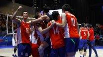 Chile venció a Venezuela y ganó el bronce en el Sudamericano de Voleibol después de 26 años