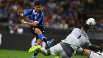 Alexis Sánchez debutó en el exigido triunfo de Inter de Milán sobre Udinese en la Serie A