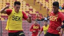 Unión Española entrenó en Santa Laura y sigue firme en su decisión de no jugar Copa Chile