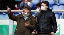 Jugador italiano es el primer caso de coronavirus en el fútbol