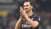 Lesión de Zlatan Ibrahimovic no afectó al tendón de Aquiles