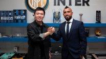 Arturo Vidal fue oficializado como jugador de Inter de Milán