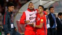 Hinchas de Inter alucinaron con la reunión de Alexis y Vidal
