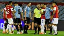 Eber Aquino recibió un incentivo tras su polémico arbitraje en el duelo entre Uruguay y Chile
