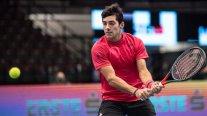 Cristian Garin se estrelló ante el poderío de Dominic Thiem y se despidió del ATP de Viena
