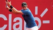 Nicolás Jarry regresó al tenis con derrota en primera ronda del Challenger de Lima