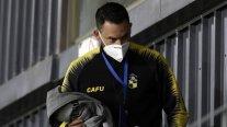 El enfado de Mauricio Pinilla por supuesto penal no cobrado a Coquimbo ante Defensa y Justicia