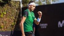 Alejandro Tabilo enfrenta al brasileño Pedro Sakamoto en la qualy del ATP de Santiago