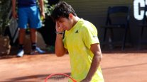 Cristian Garin perdió terreno en la clasificación mundial de la ATP