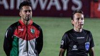 El nuevo gesto de Palestino: Lució la bandera y un mapa del territorio en Copa Sudamericana