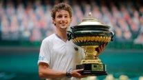 Ugo Humbert conquistó el ATP de Halle