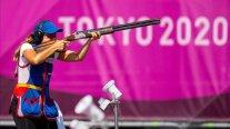 Francisca Crovetto complicó sus chances de avanzar a la final del tiro skeet en los Juegos Olímpicos