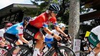Catalina Soto sufrió el desgaste y abandonó la carrera de ciclismo en ruta en Tokio 2020
