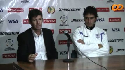 DT de Defensor Sporting: Debimos empatar con Universidad de Chile
