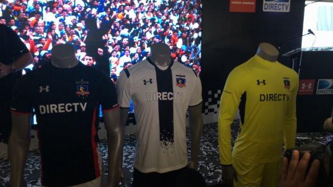 484da894a452e Colo Colo presentó su nueva camiseta para el Clausura y la Copa Libertadores
