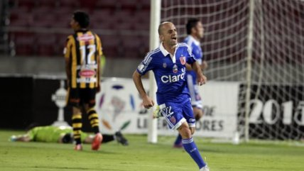 U. de Chile batió a The Strongest y sigue luchando en la Libertadores
