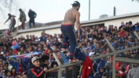 Duelo entre Rangers y Universidad de Chile fue suspendido por incidentes
