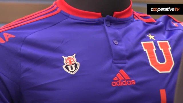 Video  Así fue el lanzamiento de la nueva camiseta de Universidad de Chile  - AlAireLibre.cl b8dc543ea9407