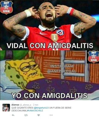 foto_0000000120161011233326 fotos] arturo vidal fue figura y protagonizó los memes del triunfo