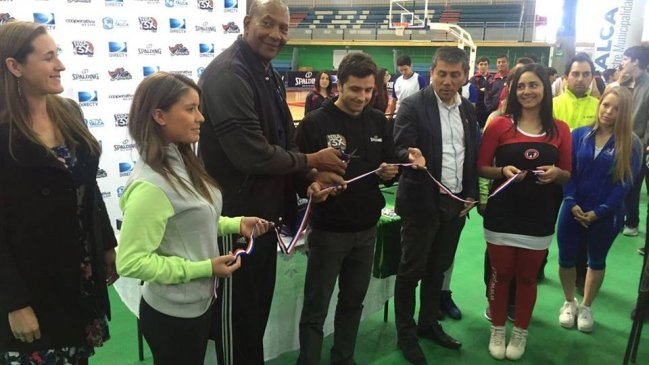 Alex English inauguró el NBA3X en Talca