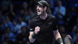 Andy Murray superó a Marin Cilic en su debut en el Masters de Londres