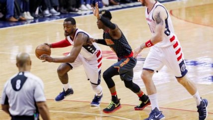 Warriors, Wizards y Rockets sumaron nuevos triunfos en los play-offs de la NBA