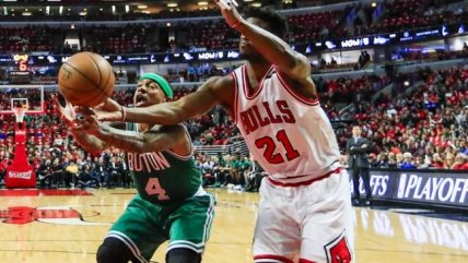La victoria de Boston Celtics sobre Chicago Bulls en los play-offs de la NBA