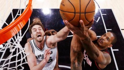 El triunfo a domicilio de Houston Rockets sobre San Antonio Spurs