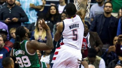 Washington estiró la serie con Boston hasta el último partido en la NBA
