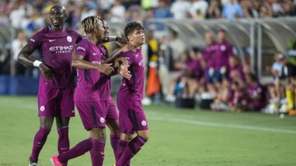Manchester City aplastó a Real Madrid en Estados Unidos