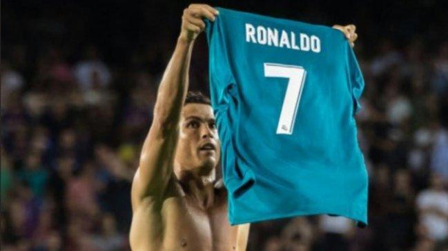 Foto  Archivo Imitación de Cristiano Ronaldo a Messi en celebración de su gol  se tomó las redes sociales 01cf5cbc538c1