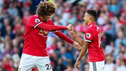 Rashford y Fellaini extendieron la racha de Manchester United en la Premier League