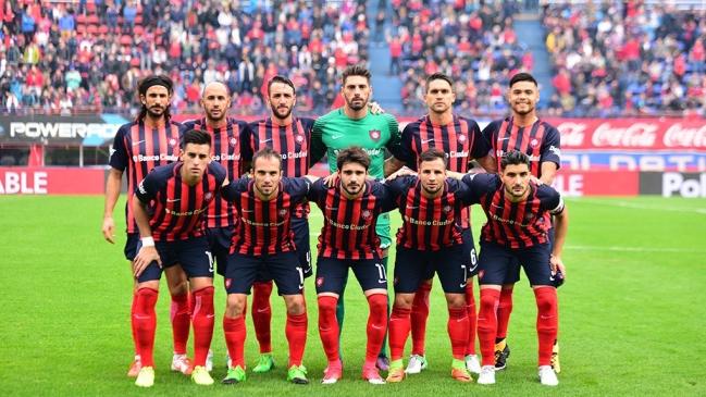 Foto   SanLorenzo Paulo Díaz y San Lorenzo se estrenaron con empate en la  Primera División de Argentina 0b6e16a09901f