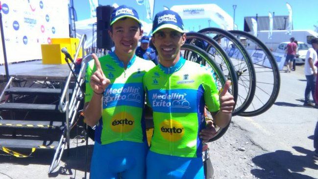 El colombiano Nicolás Paredes es el nuevo líder de la Vuelta de ...