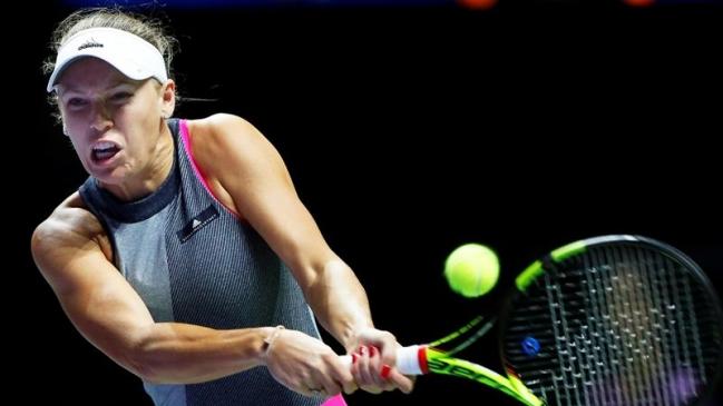 Caroline Wozniacki Barrió Con Simona Halep Y Ya Está En Semifinales