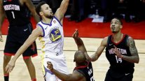 Golden State Warriors superó a Houston Rockets en choque clave de la Conferencia Oeste en la NBA