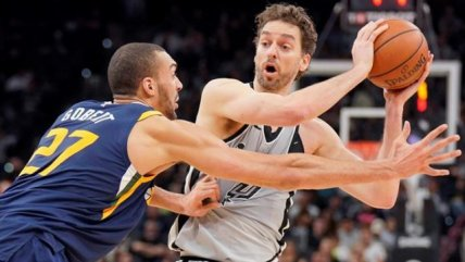 San Antonio Spurs cayó de local ante Utah Jazz en la NBA