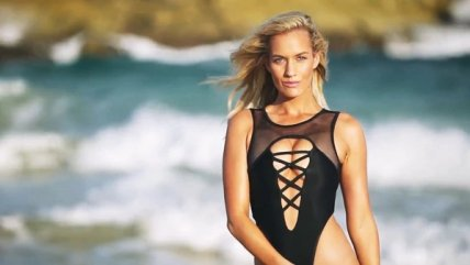 Paige Spiranac, la golfista que sufre por bullying, posó para Sports Illustrated