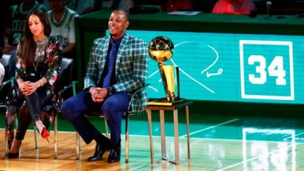 Boston Celtics homenajeó a Paul Pierce y retiró el número 34