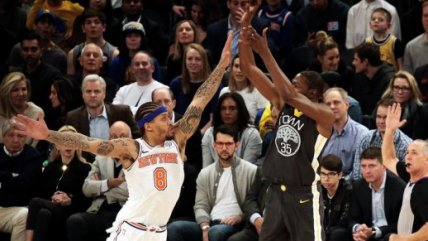 El triunfo de Golden State en el Madison Square Garden