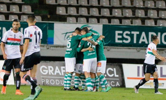 Deportes Temuco derrotó por 3-2 a Palestino este viernes en el Estadio