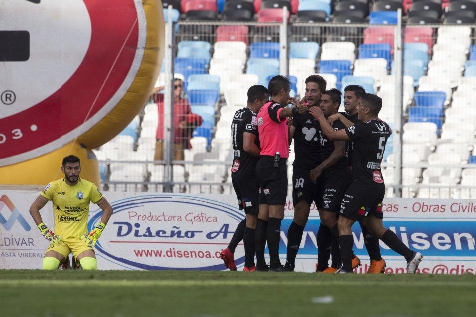 En encuentro válido por la sexta fecha del Campeonato Nacional, Deportes Antofagasta derrotó por 3-2 a O'Higgins, en el Estadio