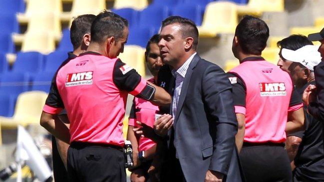 Tribunal confirmó sanción a Pablo Guede: Se perderá el clásico ante la UC