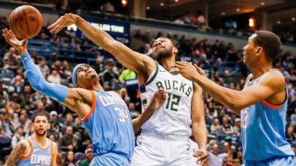 Los Angeles Clippers venció a domicilio a Milwaukee Bucks